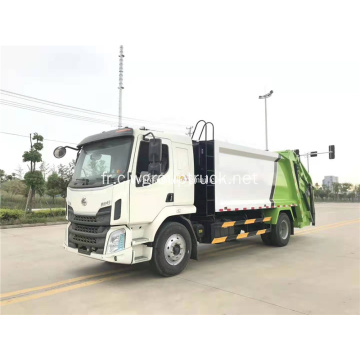 Dongfeng simple pont 14cbm camion à ordures de compression
